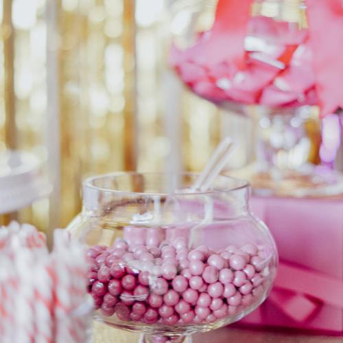 25th Birthday Dessert Table